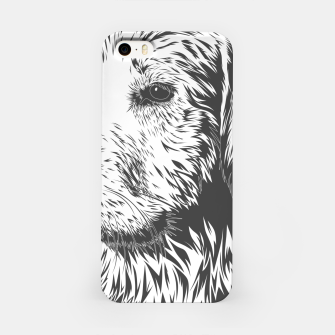 Thumbnail image of Portrait of a dog iPhone Case, Live Heroes