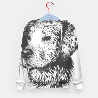 Thumbnail image of Portrait of a dog Kid's sweater, Live Heroes