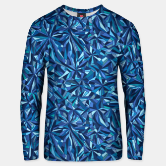 Frost crystal mosaic Unisex sweater thumbnail image