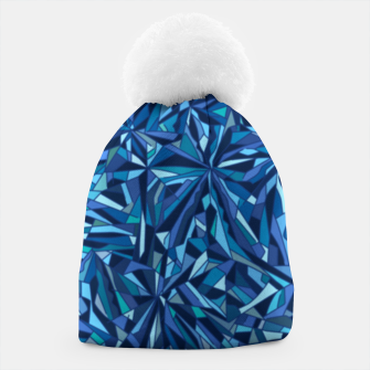 Thumbnail image of Frost crystal mosaic Beanie, Live Heroes