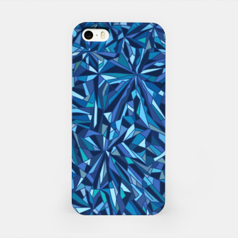 Thumbnail image of Frost crystal mosaic iPhone Case, Live Heroes