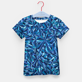 Thumbnail image of Frost crystal mosaic Kid's t-shirt, Live Heroes