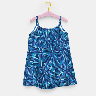Thumbnail image of Frost crystal mosaic Girl's dress, Live Heroes