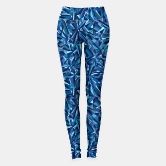 Thumbnail image of Frost crystal mosaic Leggings, Live Heroes