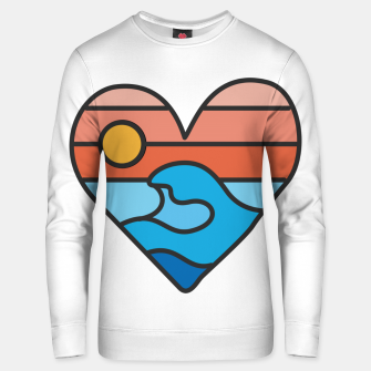 Thumbnail image of Wave Lover Unisex sweater, Live Heroes