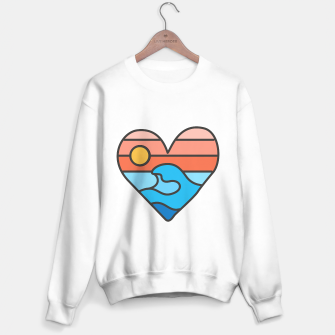 Thumbnail image of Wave Lover Sweater regular, Live Heroes
