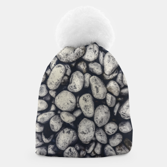 Thumbnail image of White Rocks Close Up Pattern Photo Beanie, Live Heroes