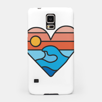Thumbnail image of Wave Lover Samsung Case, Live Heroes