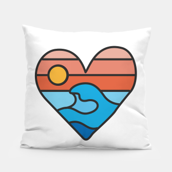 Thumbnail image of Wave Lover Pillow, Live Heroes