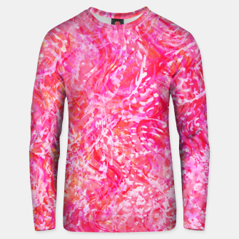 Thumbnail image of Texture Painting  Magenta Unisex sweater, Live Heroes