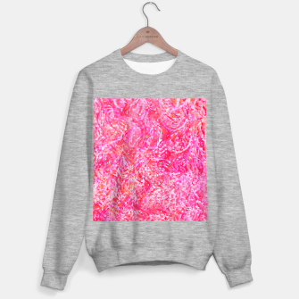 Thumbnail image of Texture Painting  Magenta Sweater regular, Live Heroes