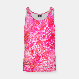 Thumbnail image of Texture Painting  Magenta Tank Top, Live Heroes
