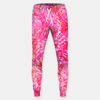 Thumbnail image of Texture Painting  Magenta Sweatpants, Live Heroes