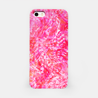 Thumbnail image of Texture Painting  Magenta iPhone Case, Live Heroes