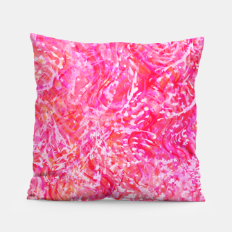 Thumbnail image of Texture Painting  Magenta Pillow, Live Heroes