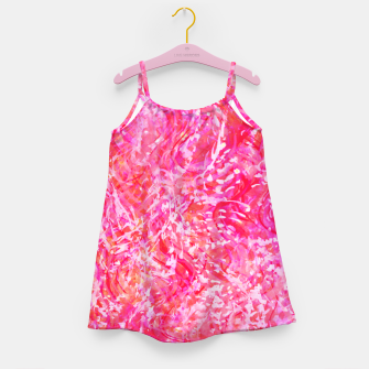 Thumbnail image of Texture Painting  Magenta Girl's dress, Live Heroes