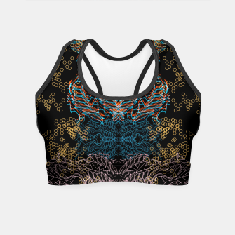 Thumbnail image of Techno Fox Crop Top, Live Heroes