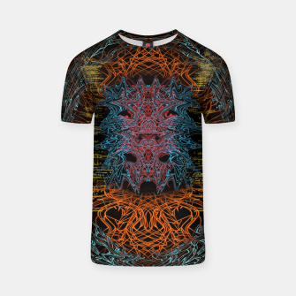 Thumbnail image of Devil In The Mirror T-shirt, Live Heroes