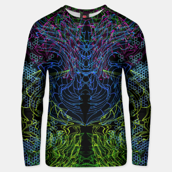 Thumbnail image of Blue Techno Dragon Unisex sweater, Live Heroes