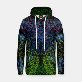Thumbnail image of Blue Techno Dragon Hoodie, Live Heroes