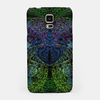 Thumbnail image of Blue Techno Dragon Samsung Case, Live Heroes