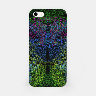 Thumbnail image of Blue Techno Dragon iPhone Case, Live Heroes