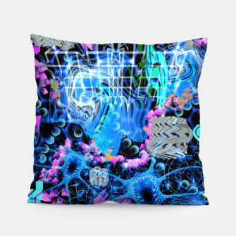 Miniaturka Psychedelic Spacescape Pillow, Live Heroes