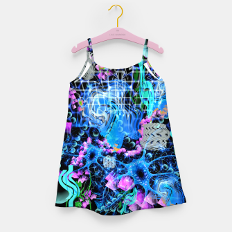 Miniaturka Psychedelic Spacescape Girl's dress, Live Heroes