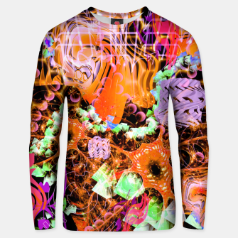 Miniaturka Psychedelic Spacescape (Burnt By The Sun) Unisex sweater, Live Heroes