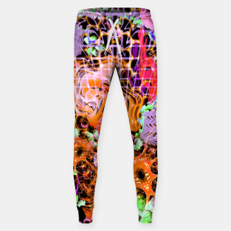 Miniaturka Psychedelic Spacescape (Burnt By The Sun) Sweatpants, Live Heroes