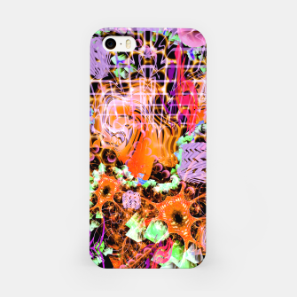 Miniaturka Psychedelic Spacescape (Burnt By The Sun) iPhone Case, Live Heroes