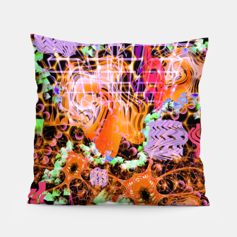 Miniaturka Psychedelic Spacescape (Burnt By The Sun) Pillow, Live Heroes