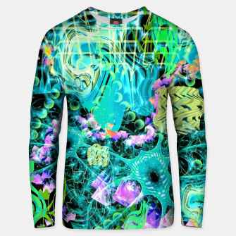 Thumbnail image of Psychedelic Spacescape (Alien Fairy Dream) Unisex sweater, Live Heroes