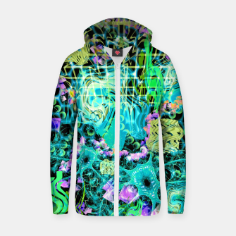 Thumbnail image of Psychedelic Spacescape (Alien Fairy Dream) Zip up hoodie, Live Heroes