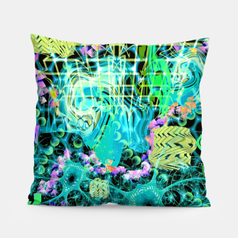 Thumbnail image of Psychedelic Spacescape (Alien Fairy Dream) Pillow, Live Heroes
