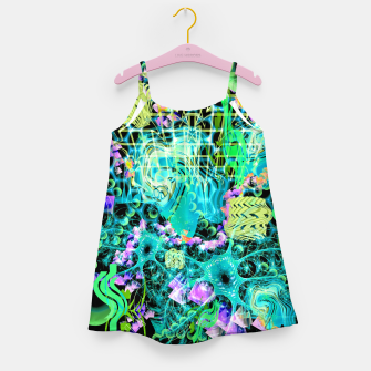 Thumbnail image of Psychedelic Spacescape (Alien Fairy Dream) Girl's dress, Live Heroes
