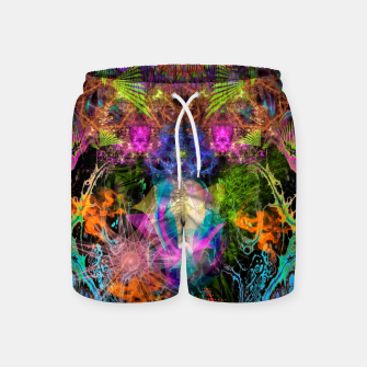 Thumbnail image of Grip On Unreality Swim Shorts, Live Heroes