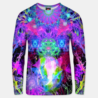 Thumbnail image of Grip On Unreality (Blacklight) Unisex sweater, Live Heroes
