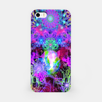 Thumbnail image of Grip On Unreality (Blacklight) iPhone Case, Live Heroes
