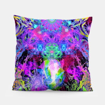 Thumbnail image of Grip On Unreality (Blacklight) Pillow, Live Heroes