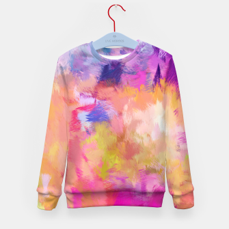 Thumbnail image of Painted Mood Kid's sweater, Live Heroes