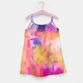 Thumbnail image of Painted Mood Girl's dress, Live Heroes
