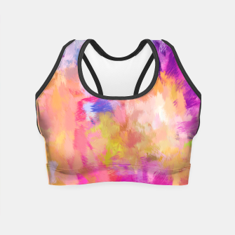 Thumbnail image of Painted Mood Crop Top, Live Heroes
