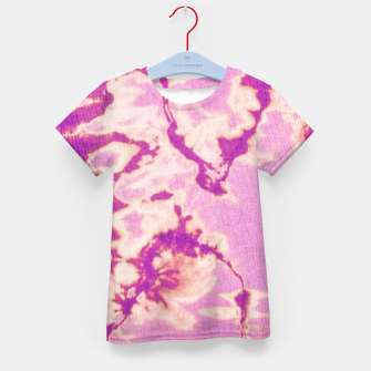 Thumbnail image of Pink Ethnic Tie Dye Kid's t-shirt, Live Heroes