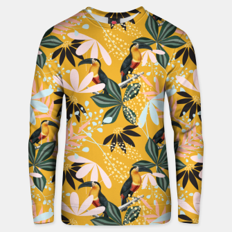 Thumbnail image of Tropical Toucan Garden Unisex sweater, Live Heroes