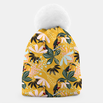 Thumbnail image of Tropical Toucan Garden Beanie, Live Heroes