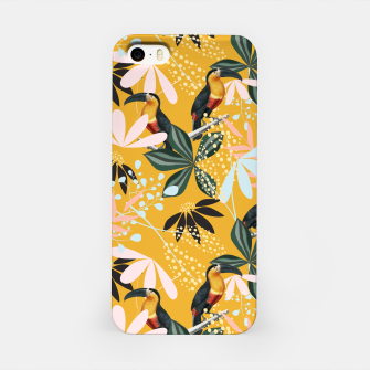 Thumbnail image of Tropical Toucan Garden iPhone Case, Live Heroes