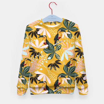 Thumbnail image of Tropical Toucan Garden Kid's sweater, Live Heroes