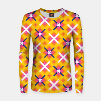 Thumbnail image of Aligned Positivity Women sweater, Live Heroes