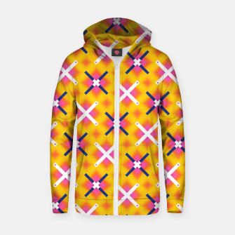 Thumbnail image of Aligned Positivity Zip up hoodie, Live Heroes